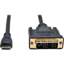 Tripp Lite Mini Hdmi To Dvi Digital Monitor Adapter Cable M/m 6' 6ft - Hdmi/dvi