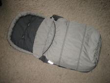 Teutonia Fußsack für Kinderwagen/ Buggy in silber/grau. Guter Zustand
