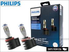 H8 H11 Philips X-treme Ultinon 6500K LED Light bulbs 2400LM 10W Fog Head lamps