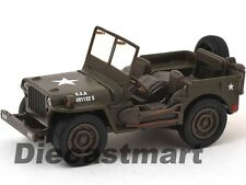 NEWRAY 54133 CITY CRUISER JEEP WILLYS MILITARY ARMY 1:32 DIECAST GREEN