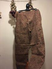Women's Size 14 Stretch Faux Corduroy Pants ( Michaela) By Lizsport