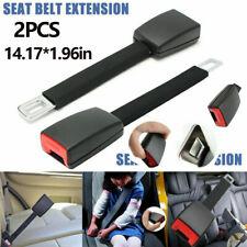 2X Auto Sicherheit Sitzgurt Safety Belt 36cm Extender Verlängerung Schnalle Clip