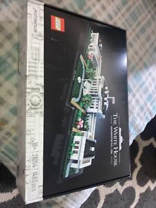 LEGO Architecture 21054 The White House 1483 Piece Block Building Set for Adults