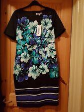 Debenhams petite floral print dress size 14