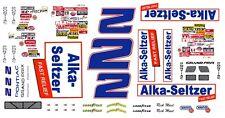 #2 Rick Mast Alka-Seltzer Pontiac 1990 1/24th - 1/25th Scale Decals