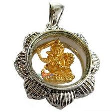 Delicate Tibetan Copper Gold-plating BUDDHA KrissSword Spin Lucky Change Pendant