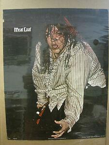 vintage Meat Loaf meatloaf rock n roll Vintage Poster 2620