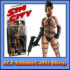 NECA SIN CITY ACTION FIGURE GAIL COLOR + UZI HANDCUFFS NEW in BLISTER!
