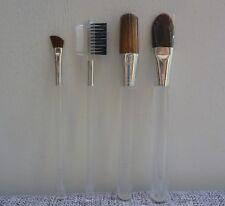 CLINIQUE 4 pcs Makeup Brush Set, Face Powder, Foundation, Brow Comb & Eyeliner