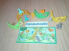 ANIMALS OF THE FOREST COMPLETE SET WITH ALL PAPERS KINDER SURPRISE 2017/2018