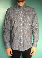 Relco vintage shirt. Paisley patterned, long sleeve, button down collar size S