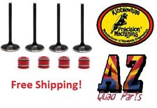 Can Am DS650 DS 650 +1 mm Replacement Kibblewhite Intake Exhaust Valves & Seals