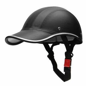 Baseball Cap Motorcycle Helmet Half Face Helmet Electric Bike Scooter Anti-UV