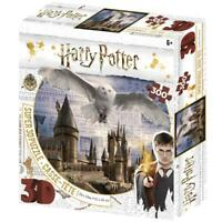 Hogwarts and Hedwig Harry Potter Super 3D Puzzles 300 Pieces