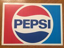 Tin Sign Vintage Pepsi