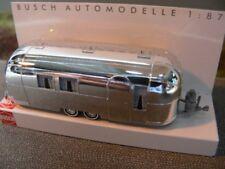1/87 Busch Amerikanischer Wohnwagen Airstream mit Gardinen 44982