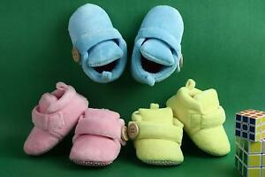 Superminis Baby Girls and Baby Boys Velvet Soft Base Booties/Shoes Free Ship