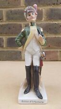 Ceramic Figurine of a French Soldier - Soldat d'Infanterie