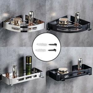 Stainless Steel Bathroom Shelves Shower Caddy Rack Shelf Metal Storage Organizer