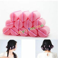12 Pcs Magic Sponge Foam Cushion Hair Styling Rollers Curlers Twist Tools Witty