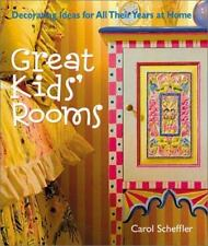Great Kids' Rooms: Decorating Ideas for All Their Years at Home-ExLibrary