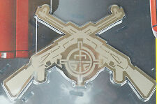 Bully Stainless Steel Body Decal Rifle Target Emblem Chevy Ford Hummer