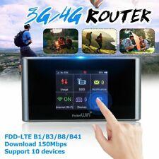 Unlocked 4G LTE Wireless Router Mobile Hotspot Modem WIFI Dual Band Sim Card Hot