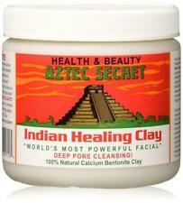 AZTEC SECRET INDIAN HEALING CLAY MASK JAR 100% NATURAL CALCIUM BENTONITE