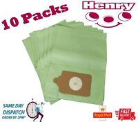 Henry Hoover Bags Vacuum Cleaner Paper Dust Bags X 10 Pack non genuine