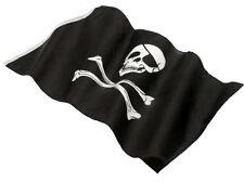 Pirate Fancy Dress Flag Jolly Roger Skull & Crossbones 152 x 91cm by Smiffys New