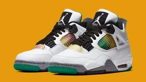 NEW Nike Air Jordan 4 Retro Rasta Size 12 Women's AQ9129-100