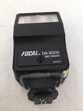 Focal DA-2000 Multi Dedicated Flash, Repaired, See Pics