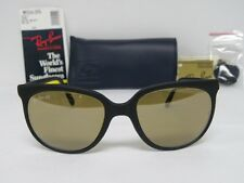 New Vintage B&L Ray Ban Cats 1000 Matte Black RB-50 W0635 General Lens NOS