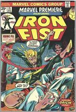 Marvel Premiere #15 VF+/8.5 - Iron Fist First Appearance