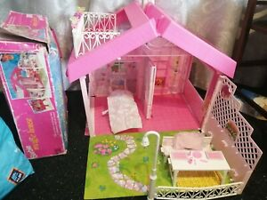 Vintage Barbie Magic House Carry Case Retro Boxed With Instructions 1990s