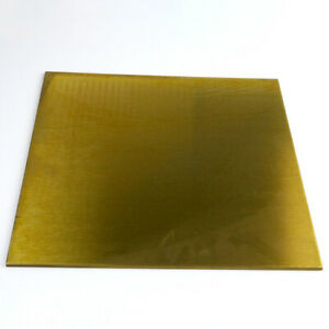 """BRASS SHEET / PLATE ALLOY 260 1/16"""" (.0625) x 2"""" x 3"""""""