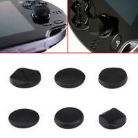 6Pcs / Set Silicone Analog Thumb Stick Grips Cap Cover For PSV 1000 2000 PS Vita