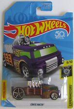 Hot Wheels 2018 Treasure Hunt Cajón Racer 6/10