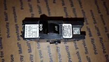 NA120 20 amp 1 pole Challenger/Federal Pacific Elec STAB-LOK (Full Size) Breaker