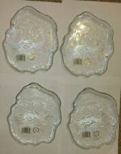 Glass Crystal Clear Christmas & Winter Table Plates Pieces