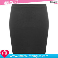 Polyester Patternless Formal Skirts for Women