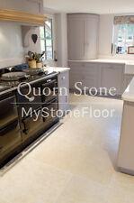Dijon Limestone Brushed Flagstone Floor Tiles - CHEAPEST ON EBAY