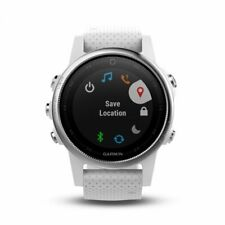 Garmin fenix 5S White with Carrara White Band Multisport Gps Watch 010-01685-00