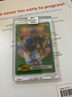 2018 Clearly Authentic Amed Rosario 1993 Finest RC Auto Autograph #76/199 JRG