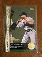 2000 World Series Topps Baseball Base Card #55 - John Franco - New York Mets
