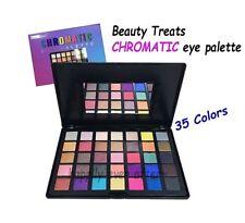 Beauty Treats CHROMATIC eye palette - 35 Colors Metallic Pigment Eyeshadows *NEW