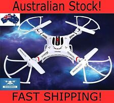 FAST Drone Quadcopter DFD F183C 2.4G RC With 2MP HD Camera LCD RTF HEADLESS MODE