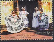 Upaep Panamá 1159 1996 La Pollera MNH