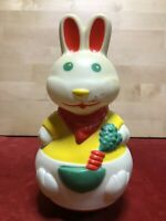"VINTAGE JOUET "" LAPIN "" CULBUTO LARDY LAVANCIA MADE IN FRANCE"