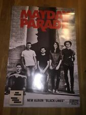 "Mayday Parade Black Lines Poster 24"" X 36"""